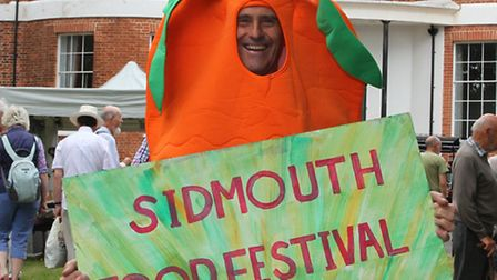 Sidmouth Food Festival. Ref shs 33-16SH 5337 Picture: Simon Horn.