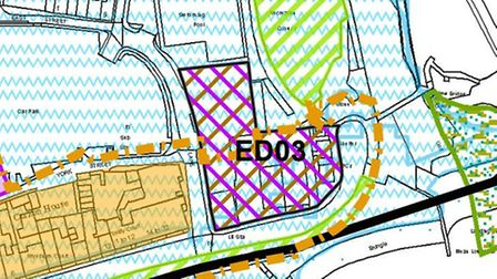 ED03 - the Local Plan diagram of Port Royal