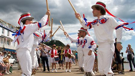 Sidmouth folk festival 2016. Ref shs 31-16TI 5648. Picture: Terry Ife