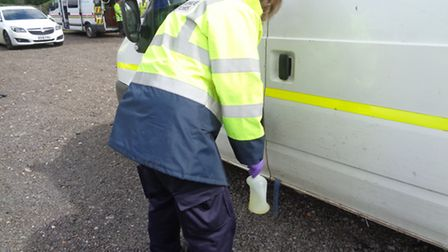 The HMRC test fuel gather as aprt Operation Rogue Trader.