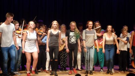 The Halsway Manor Hothouse music programme took to the stage last Saturday.