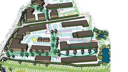 An image from proposals for the business park.