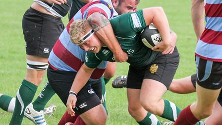 Sidmouth Chiefs at home to Bude. Ref shsp 39-16TI 8595. Picture: Terry Ife
