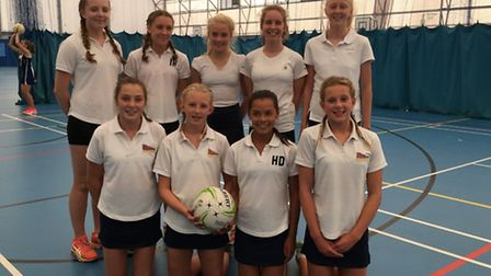 Sidmouth Eagles Under-14 netball team