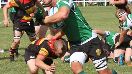 Honiton played Sidmouth for the David Turner Memorial Cup at the Allhallows ground on Saturday. Ref