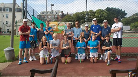 The Sidmouth Tennis Club Quorn group
