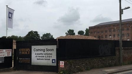 Acorn Property is set to build 41 homes on Ottery's former derelict factory site
