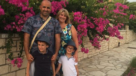Gemma Bailey is aiming to challenge preconceptions surroundin autism (pictured with family)