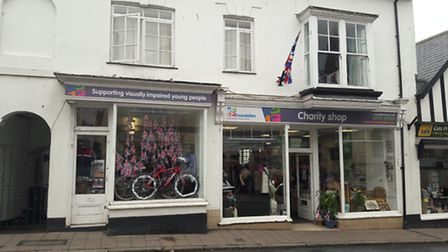 The WESC Foundation Businesses has decorated its window in honour of the Tour of Britain.