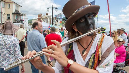 Sidmouth folk festival 2016. Ref shs 31-16TI 5720. Picture: Terry Ife