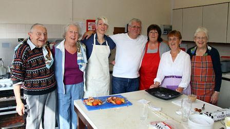 FORCE cancer charity held a Big Breakfast event at Sidford Social Hall at the weekend. The kitchen s