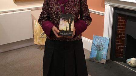Jane Hawking with her debut novel Silent Music