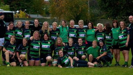 Withycombe ladies, all set for another season of rugby