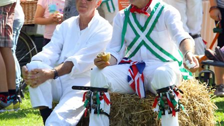 Branscombe village held a harvest festival at the weekend. Ref shb 9268-39-15AW. Alex Walton