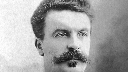 Guy de Maupassant was life-long friends with Gustave Flaubert. Picture: Wikimedia