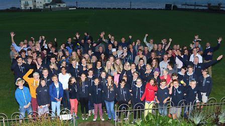 Sidmouth Surf Life Saving Club awards 2016. Picture by Simon Horn LRPS.