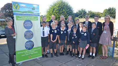 Students from Sidmouth College, Sidmouth Primary School and St John's School helped to compile a nei