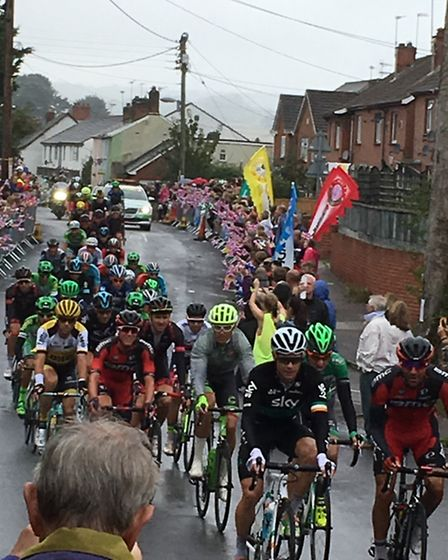 Tour of Britain 2016 in Ottery St Mary