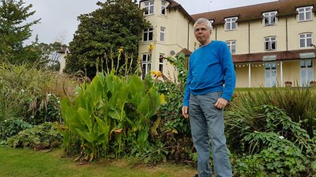 Ed Dolphin is 'saddened' by the state of Knowle's gardens