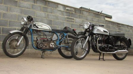 Two Norton motorcycles are going to auction