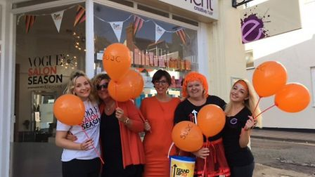Staff at Element supported Stand up to Cancer