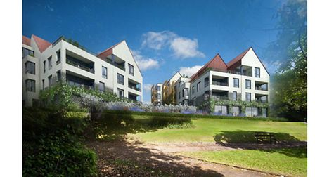 One of the photomontages in PegasusLife's Knowle plans