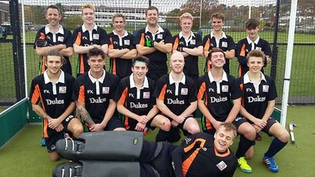 The Sidmouth and Ottery Hockey Club men's third team