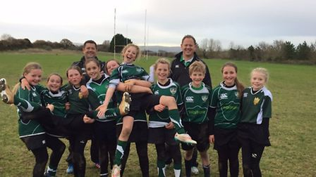 Sidmouth Under-13 girls