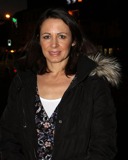 Olympian, Jo Pavey, was guest of honour who was invited to switch on Honiton's Christmas lights this