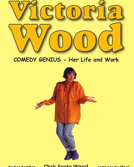 The front cover of Chris Foote Wood's biography of his sister, Victoria Wood