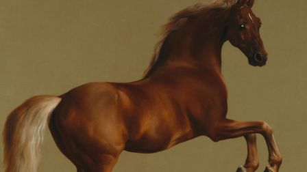 Whistlejacket, by George Stubbs, is an approximately life-size painting of the Marquess of Rockingha