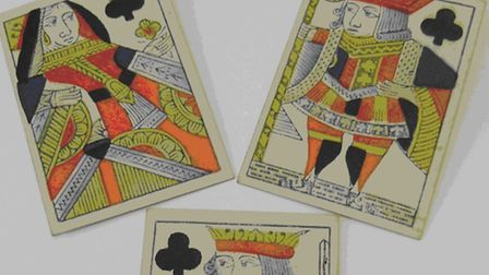 Playing cards at Sidmouth Museum