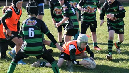 Action from the Sidmouth Under-10s meeting with Withycombe