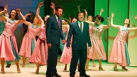 Sidmouth Musical Comedy Society & Sidmouth Musical Theatre presents White Christmas the Musical. Ref