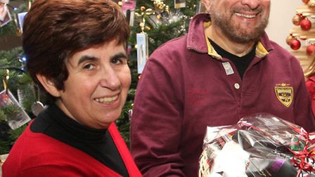 Rosemary and David Zirker to host Christmas Day lunch for lonely. Photo by Terry Ife ref shv 5044-50