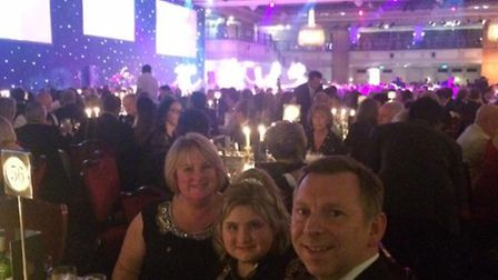 Make-a-Wish treated Charlotte Reid and her parents Angela and Steve to a trip to London and the Roya