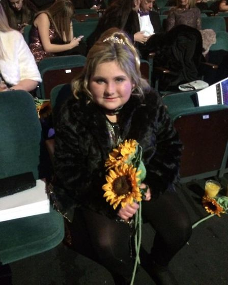 Make-a-Wish treated Charlotte Reid to a trip to London and the Royal Variety Show