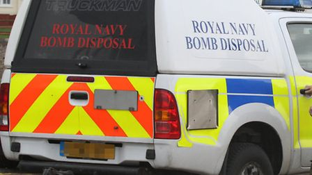 Bomb disposal teams were called to Seaton after a 70-year-old grenade was found in the River Axe. Pi