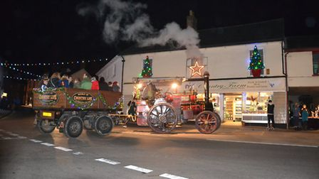 Ottery Late Night Shopping and Christmas Lights Switch on