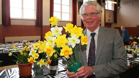 Brian Nelson, chairman of Ottery Gardening Club, announced the club will fold after more than 40 yea