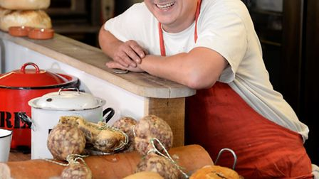 Robin Rea at the Rusty Pig. Restaurant & charcuterie