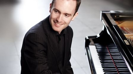 Simon Callaghan, pianist. Picture: Benjamin Ealovega