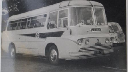Otter Coaches. Ref sho 49-16TI 3221. Picture: Terry Ife