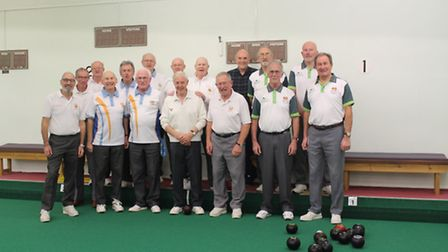 Bowlers before a match in the Potburys Evening League