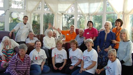 Residents of Malden House and friends and family of Jonathan Hayman raised £412 for CRY during their
