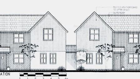 Amended design plans for Winslade Social Club