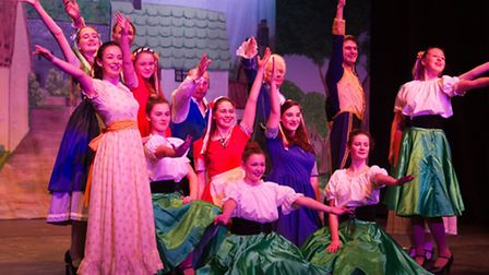 SADS production of Cinderella. Ref shs 01-17TI 4720. Picture: Terry Ife