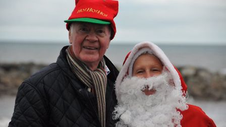 Francine and Philip Hayes- DeWymmer have been dressing up every Christmas Day for 10 years to wish S