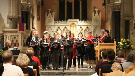 Sidmouth College carol concert.