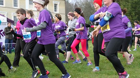 The Stroke Associations resolution run at Escot. Ref exsp 09-16TI 1554. Picture: Terry Ife